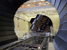 James Webb Space Telescope mirror segments are being prepped to move into the X-ray and Cryogenic Facility