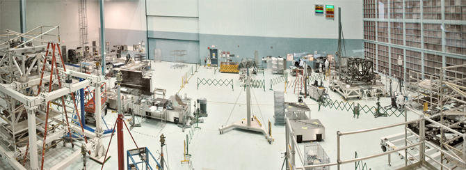 view of Goddard's High Bay Clean Room