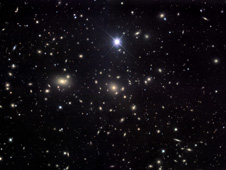 The Coma Galaxy Cluster, also known as Abell 1656