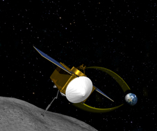 Artist's concept of the OSIRIS-REx mission