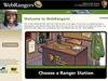 WebRangers site screen-grab