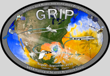 GRIP mission logo