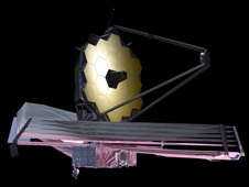artist concept of Webb telescope