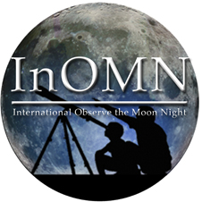 logo for international observe the moon night.