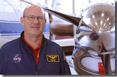 Photo of Rich Rogers of Wallops Flight Facility