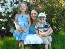 Tara Perdue and family