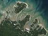 barrier islands along the northeast coast of Brazil