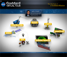 text: Goddard Virtual Tour
