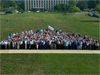 Group photo of Goddard employees who contributed to the shuttle program
