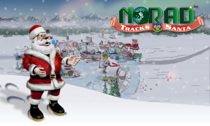 Santa and NORAD