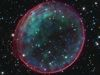 Hubble image of Type Ia Supernova Remnant 0509-67.5 is pretty