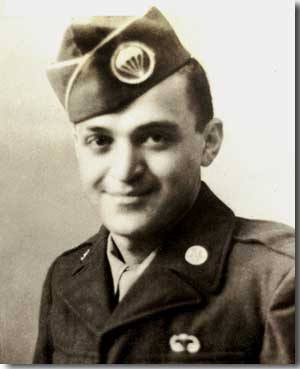 Photo of Vince Gigliotti during World War II