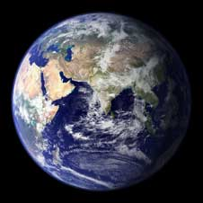 Big Blue Marble image of Earth