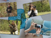 montage image of photographers and videographers