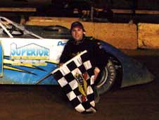 Paul Cursey was  the Feature Win at the Potomac Speedway in 2008.