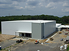 The new Logistics Facility, called Building 35, at NASA's Goddard Space Flight Center in Greenbelt, Md. is nearing completion.