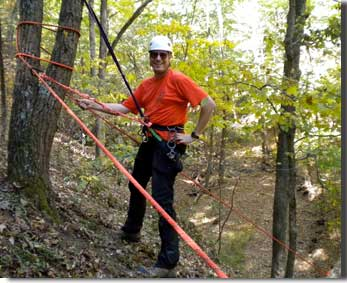 Glenn Bock in his search and rescue gear