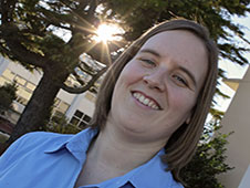 Photo of Sarah Daugherty