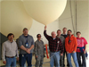 staff with weather balloons
