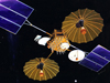 artist concept of first TDRS satellite