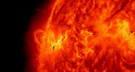SDO's view of X1.2 class solar flare on May 15, 2013.