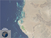 LDCM view of Saudia Arabia coast