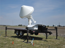 XPOL weather radar installed near Calmar, Iowa