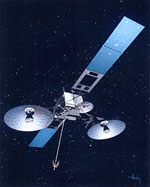 Close-up of Second Generation TDRS-