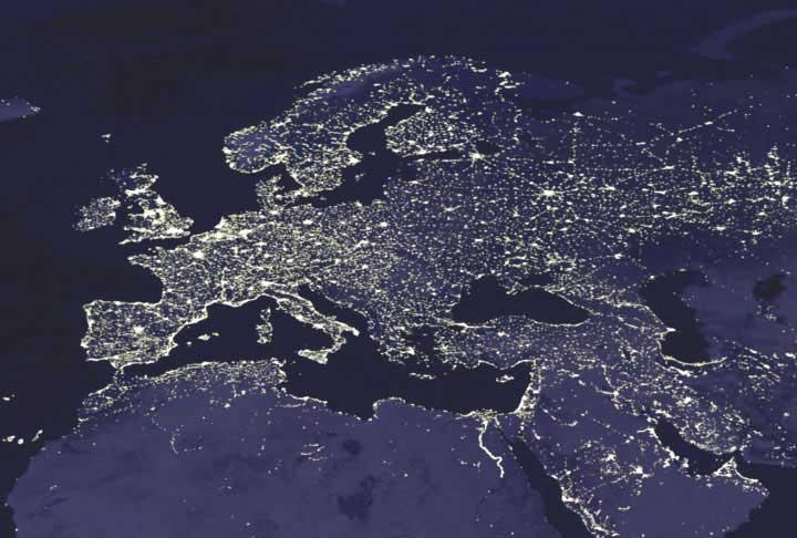 NASA - Top Photo - Earth's Night Lights - August 15, 2003