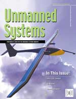 "RIPCom was highlighted in the May/June 2003 issue of ""Unmanned Systems"", a magazine published for the unmanned systems industry."