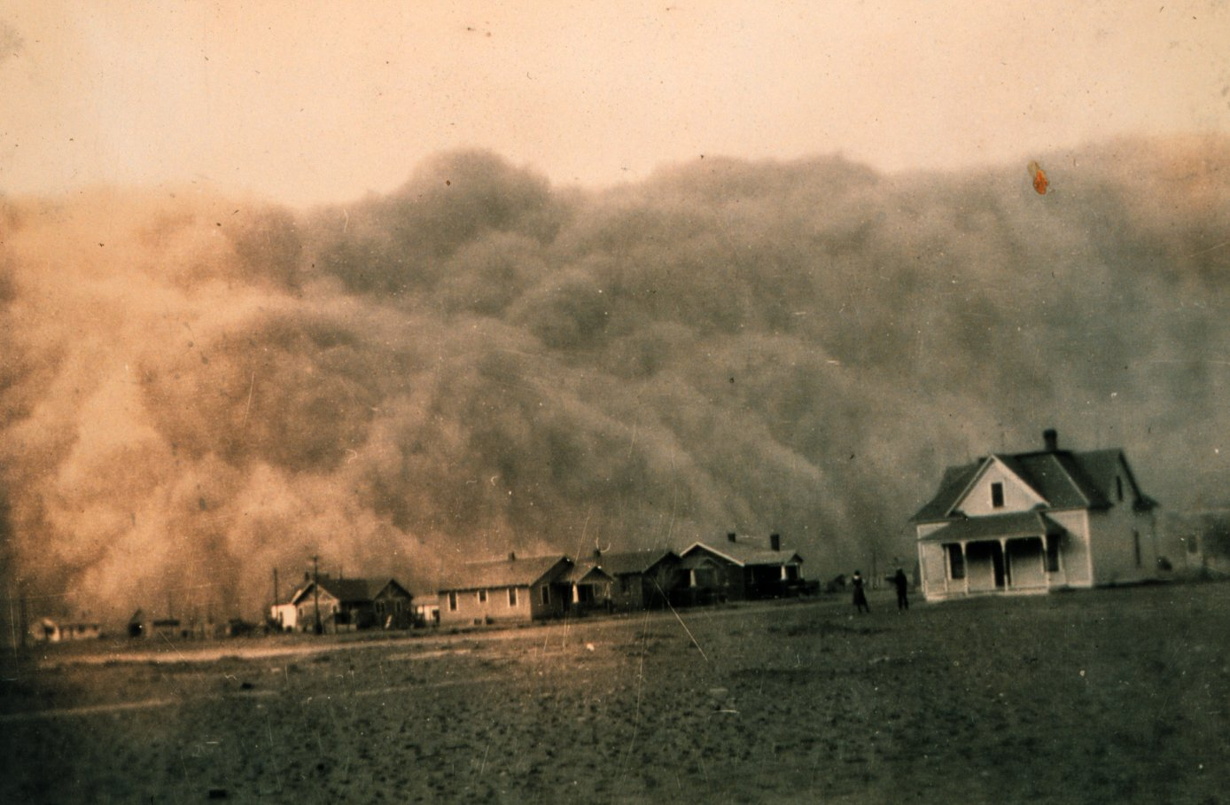 causes the dust bowl