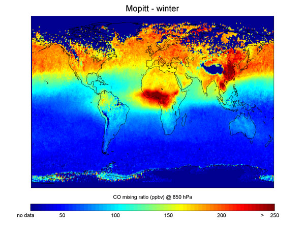 NASA - Top Story - NASA's Terra Satellite Tracks Global Pollution ...