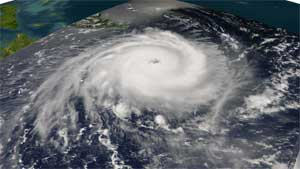 Image of Frances on August 31, 2004