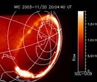 IMAGE satellite captures the aurora
