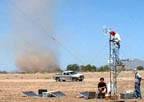 Measuring dust devils in Arizona