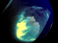 Aurora Image As Seen From Space (Click for movie)