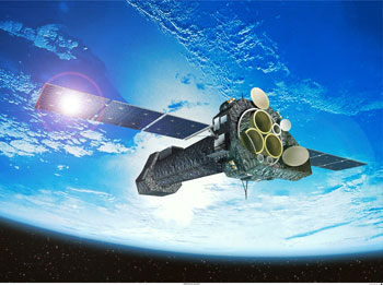 image of the XMM satellite