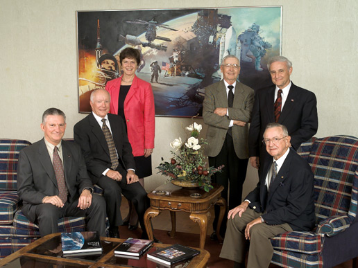 Portrait of Johnson Space Center Directors