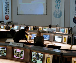 A view of the new Mission Control Center