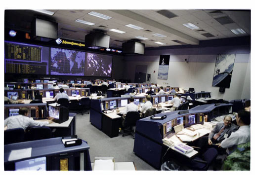 The new Mission Control Center during STS-70