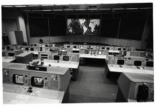 the Mission Operations Control Room