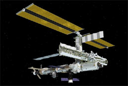 ISS configuration as of March 2005