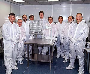 Stardust team at Johnson Space Center
