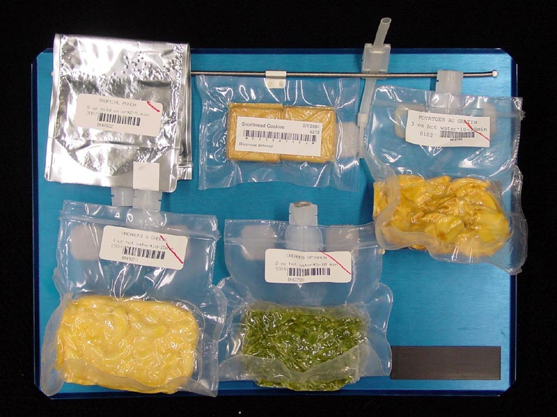 space shuttle food - photo #3