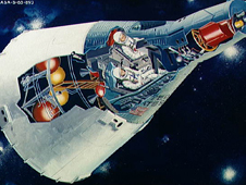 Artist's concept of Gemini spacecraft