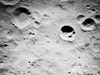AS16-M -- Apollo 16 Dufay crater and Valier crater