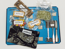 JSC2003-E-63872 -- Items flown as part of food systems