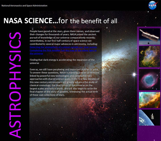 NASA Science - Astrophysics