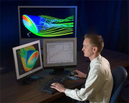 NASA - JSC Engineering - Aeroscience and Computational Fluid Dynamics Lab