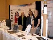 HEFD personnel support NASA booth at the 2007 Human Factors and Ergonomics Society in Baltimore